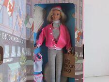 BARBIE at BLOOMINGDALES with her Brown Bag, Credit Card and Undies, Mint