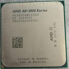 AMD A8-3850 APU CPU Processor AD3850WNZ43GX 2.9GHz FM1 905pin HD 6550D 100W
