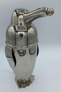 Vintage Penguin Coctail Shaker