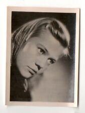 Nine-Christine Jönsson 1951 Greiling Film Star Series E Cigarette Card #124