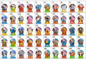 McDonald's 2021 DISNEY 50th Anniversary & Princesses Toys