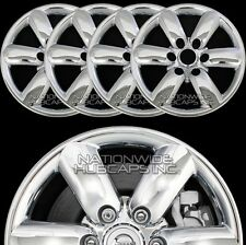 "fits 2008-14 Nissan TITAN CHROME 18"" Wheel Skins Hub Caps Rim Covers Simulators"