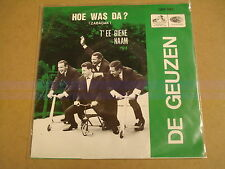 45T SINGLE / DE GEUZEN - HOE WAS DA? (ZABADAK)