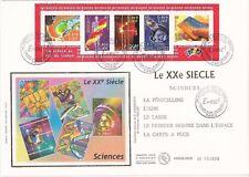Enveloppe grand format 1er jour 2001 XXème Siècle n°4 Sciences