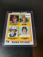 Jack Morris Detroit Tigers 1978 Topps Baseball Rookie Card (RC) #703