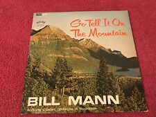 Go Tell It On The Mountain by Bill Mann & Concert Orchestra of Stockholm Word LP