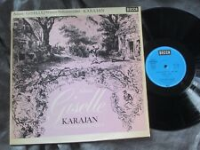 ADAM Giselle Ballet KARAJAN VPO Germany ED ROYAL SOUND STEREO 60s SXL 6002 WB NM
