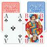 1 Romme Club große Eckzeichen Kartenspiel Französisches Bild, Spiele von Frobis