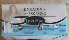 Invospa Kneading Shiatsu Back Shoulder Neck Massager Low Heat Deep Tissue