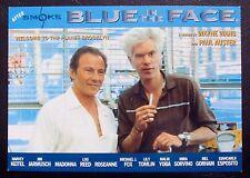 Blue in The Face film -  Postcard - Harvey Keitel Jim Jarmusch