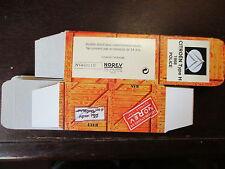 BOITE VIDE NOREV CITROEN TYPE H POLICE 1968 EMPTY BOX CAJA VACCIA