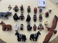 Lego Lord Of The Rings Lot Of Minifigures Uruk-Hai Saruman Aragorn Samwise Wargs