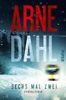 Sechs mal zwei von Arne Dahl kriminalroman Bestseller 6x2 buch schweden