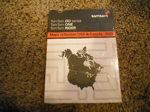 Navigator TomTom Go Series One Rider   Maps Collection Of US DVD