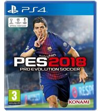 PES 2018 PS4 STANDARD EDITION ITALIANO VIDEOGIOCO EU PRO EVOLUTION SOCCER 2018