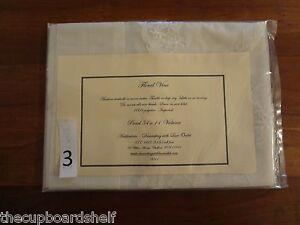 "off white natural floral vine net lace valance  / wedding decor 54 x 14"" #3"