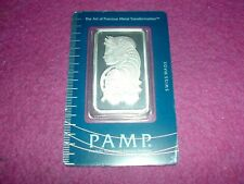 1 Ounce Silver Bar PAMP. LADY FORTUNA. SEALED.