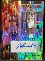 2019-20 PANINI HOOPS PREMIUM STOCK JARRELL BRANTLEY RC FLASH PRIZM AUTO HS-JBR