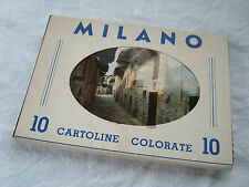 cartes postale MILAN italie cartoline colorate MILANO 4876 CANDELO MEZZANA