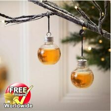 6 Pcs Bulb For Christmas Decoration Home Ball Booze Filled Xmas Tree Ornament