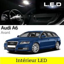 Kit éclairage intérieur ampoules à LED Blanc pour Audi  A6 C6 Avant Break