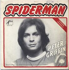 "PETER GRIFFIN - Spiderman - VINYL 7"" 45 LP ITALY 1980 VG+ COVER VG CONDITION"