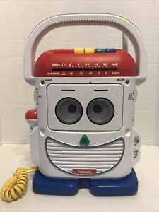 Toy Story Playskool Mr. Mike TS-468 Voice Changer Recorder Player WORKS!