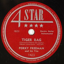 PORKY FREEMAN: Tiger Rag / I Had A Little WIfe 5 STAR Country 78