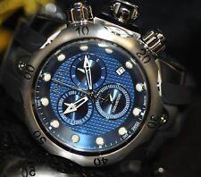Invicta Mens Rare 16149 Venom Swiss Reserve Chrono Blue Dial Black Poly Watch