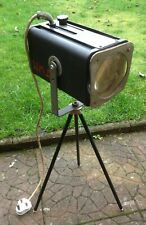 Vintage Microspot spotlight lamp on adjustable stand unrestored film theatre
