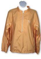 SUNICE Weather Full Zip Lightweight Windbreaker Jacket Golf Women's M Peach