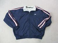 VINTAGE Speedo Jacket Adult Extra Large Blue Red Swimmer Swimming Swim Mens 90s*