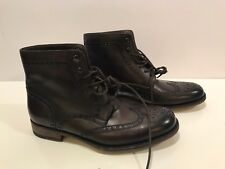 Magnanni Wingtip Boot Mid Brown Size 41 M-8.0