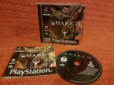 Sony Playstation 1 PS1 Game *Quake 2 II FPS Shooter* Black Label Activision ID