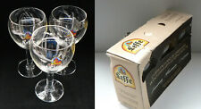 Belgian beer Leffe - beer glasses 20cl - 3 pieces - set - limited edition - 2010