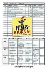 Fitness Journal 2017 : Workout Log and Food Journal : Keep Fit and Track Your...