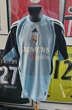 Maillot jersey shirt real madrid casillas 2003 2004 03/04 XL vintage gk gardien