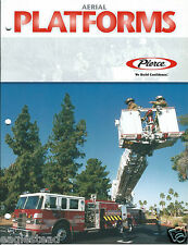 Fire Equipment Brochure - Pierce - Aerial Platforms - Tallman VFD - 2000 (DB190)