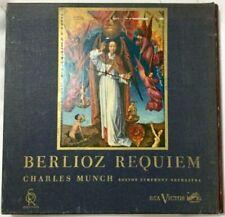 BERLIOZ REQUIEM CHARLES MUNCH BOSTON SYMPHONY ORCHESTRA SORIA SERIES LD 6077 (2)
