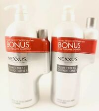 Lot Of 2 NEXXUS HUMECTRESS CONDITIONER (44 OZ EA) & 2 THERAPPE SHAMPOO (3 OZ EA)
