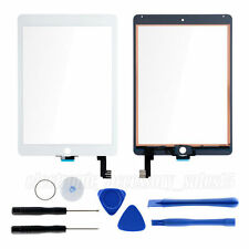 White Front Touch Screen Glass Replacement With Flex Cable & Tool for iPad Air 2