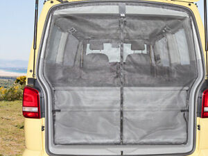 BRANDRUP Flyout Tailgate Mosquito Net for VW T5 Kombi with Tin Roof