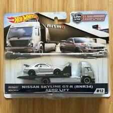 Hot Wheels Team Transport Nissan Skyline GT-R (BNR34)  Aero  Lift Package Flaw