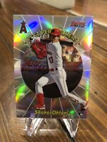 2020 Bowman's Best SHOHEI OHTANI BEST PERFORMERS ROOKIE Angels 98BP-SO