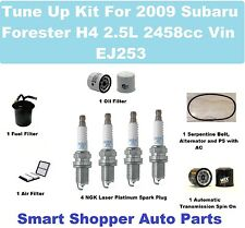 Gates Air Conditioning Serpentine Belt for 1998-2007 Subaru Forester 2.5L H4 wu