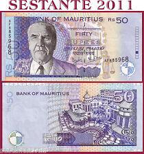 MAURITIUS   -    50 RUPEES 2001  -     P 50b    -    FDS / UNC