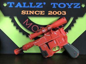 *1996*Hasbro*Star Wars*Han Solo*DL-44*Electronic Orange Toy Blaster*WORKING*Nice