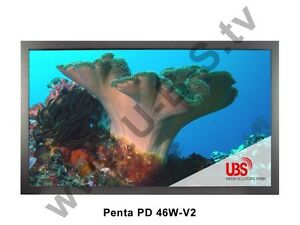 "Penta PD 46W-V2 - 46"" LCD Broadcast Widescreen TV Display HD 2 line"