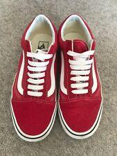 Vans - Red Vans - Size 6 (39)
