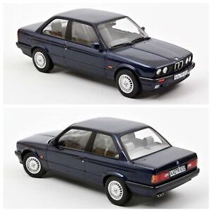 1/18 Norev BMW 325i 1988 Blue Metallic Neuf En Boite Livraison À Domicile